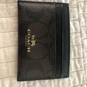 Coach Business Card Holder or Small Wallet